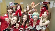 (hd) Snsd - Back Stage ~ M Countdown (24.01.2013)