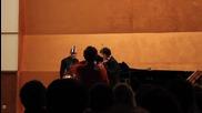 Vasko Vassilev & Fuzjko Hemming in Sofia, 08.01.2013 - Brahms, Hungarian Dance No.5