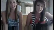 Момичета пеят Here We Go Again на Demi Lovato