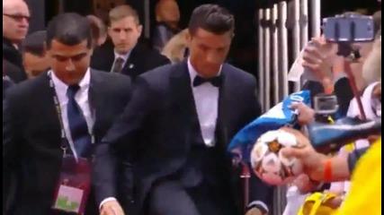 Роналдо ще го убият заради един автограф