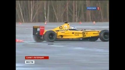 Путин подкара болид от F1