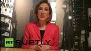 USA: Carly Fiorina announces Republican presidential bid