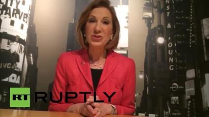 USA: Carly Fiorina announces Republican presidential bid