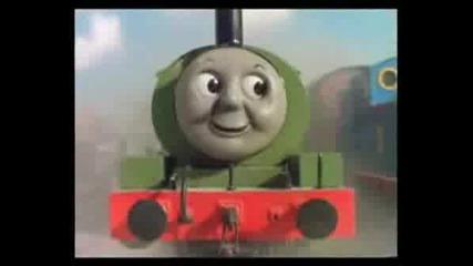 Engine Thomas & Percy`s - Cristmas Adventure