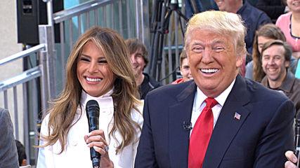 Жената на Доналд Тръмп лъсна гола