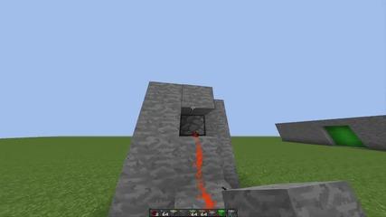 Redstone - Door Урок за правене на пистън врата