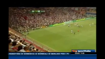 Лига Европа - Дженоа 3:1 Оденезе