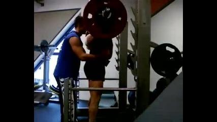 Клек - петица на 180 кг