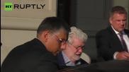 Уди Алън и Джордж Лукас забелязани в Москва