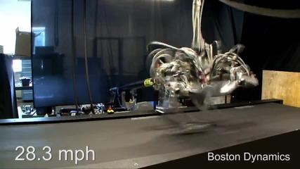 Cheetah Робот 28.3 mph