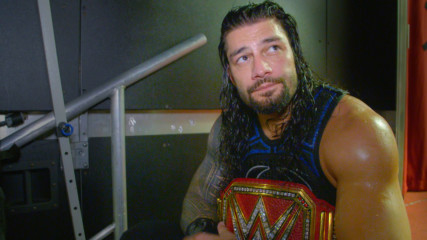 """Roman Reigns """"came to win"""" against Brock Lesnar at SummerSlam: WWE.com Exclusive, Aug. 19, 2018"""