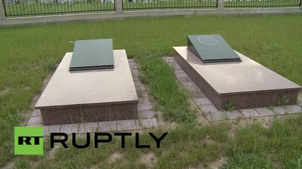 Macedonia: US & Albanian flags grace National Liberation Army (UCK) memorial