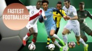 These are the 6 fastest footballers in the world