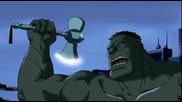 Върховни Отмъстители / Хълк и Тор се смилат от бой