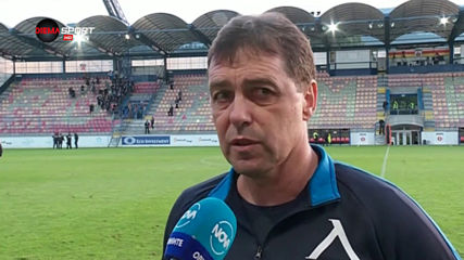 Хубчев: Бяхме по-добрият отбор