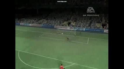 Хубавo Воле И После Гол От Центъра На Fifa 07