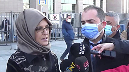 Turkey: Kashoggi's fiancee calls for evidence from US report on killing to included in trial