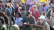 Hundreds Protest Shell's Arctic Oil Exploration Rig