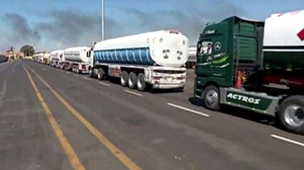Egypt: Aid convoy supplies food and medical aid to Gaza via Rafah crossing