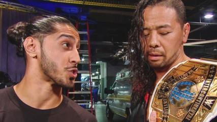 Ali congratulates Shinsuke Nakamura: SmackDown LIVE, July 16, 2019