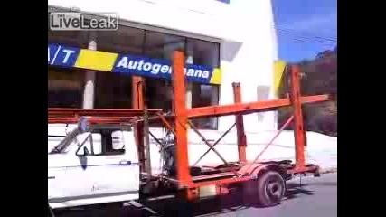 Кофти случка с Ферари