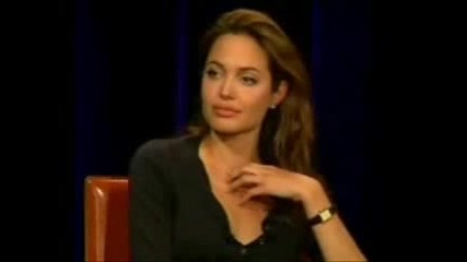 Анджелина Джоли - Интервю (част 2)