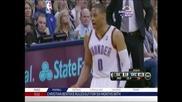"""Оклахома"" спря победната серия на ""Сан Антонио"" в НБА"