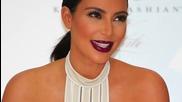Kim Kardashian Wears See Through Crochet Dress as Maternity Attire