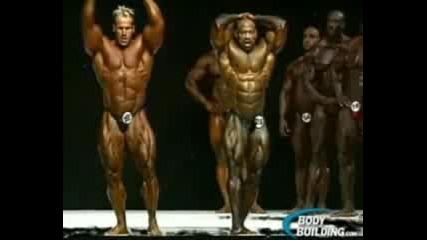 Jay Cutler vs Dexter Jackson Mr Olympia 2009 . Джей Кътлър срещу Дектър Джаксън