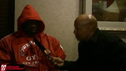 (превод) Kai Greene Interview Before the 2010 Arnold Classic