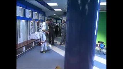 Вижте непоказвани кадри от пристигането на Роналдо в Мадрид
