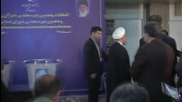 Iran: Rouhani, Zarif and Khatami cast votes in Iranian parliamentary elections