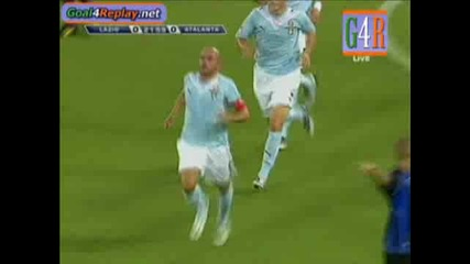 2009/8/23 Lazio - Atalanta 1 - 0