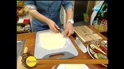 Рецептата днес - Зеленчуков пай с маслини - На кафе (19.03.2014г.)