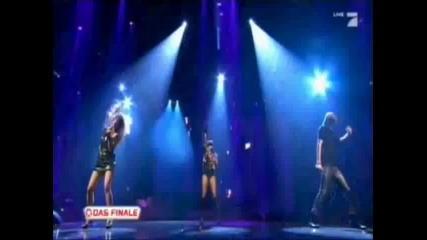 Rihanna - Dont stop the music (live @ Popstars)