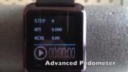www.qko.bg Смарт Часовник с барометър и термометър педометър и bluetooth