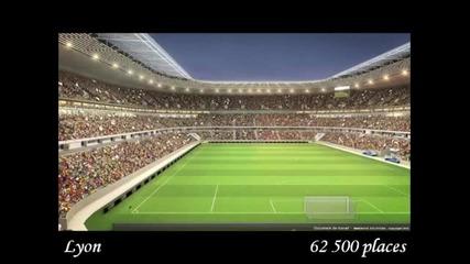 Евро 2016 Франция - стадиони /euro 2016 France stades