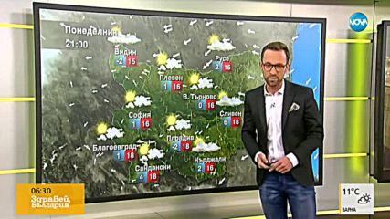 Прогноза за времето (12.11.2018 - сутрешна)
