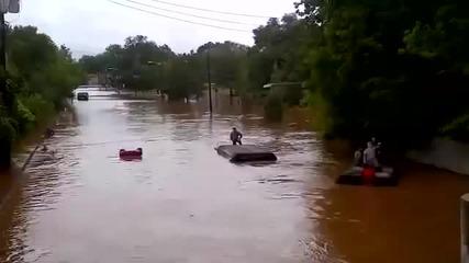 Камиони под вода
