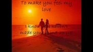 Kelly Clarkson - To make you feel my love prevod