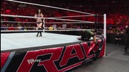 Aj Lee & Paige vs. Natalya & Emma: Raw, July 21, 2014
