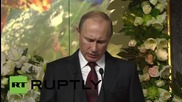 Russia: Putin and Patriarch Kirill attend Orthodox Rus exhibition in Moscow