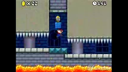 new super mario bros world 1-castle