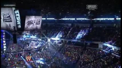 Wwe Survivor Series 2012 Team Foley vs Team Ziggler