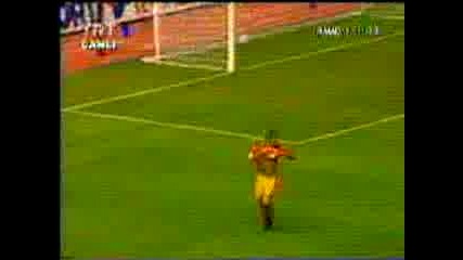 Mario Jardel - Galatasaray Vs Real Madrid