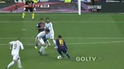 Лудия коментатор. Реал. М - Барселона 1-2. Гол на Абидал.