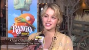 Nickelodeon's 'the Troop' Star - Gage Golightly at 'rango' opening day