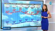 Прогноза за времето (23.06.2018 - обедна емисия)