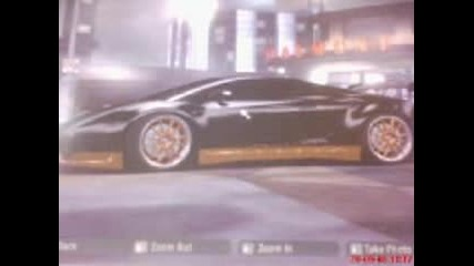 Nfs Carbon - Lamborgini Gallardo Black Miracle
