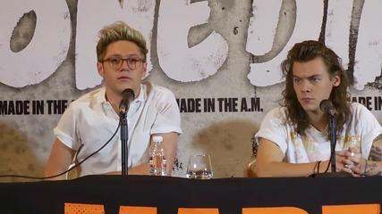 One Direction - Пресконференция в Мексико